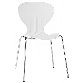 Curve Polypropylene Bistro Chair £30 - Bistro Furniture