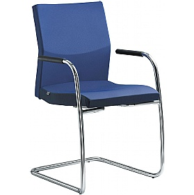 Opus Fabric Cantilever Conference Chair £306 - Office Chairs