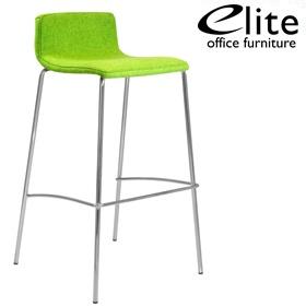 Elite Multiply 4 Leg Upholstered Bar Stool Tall Bar