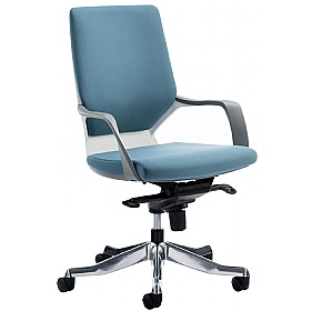 Profi Fabric Medium Back Office Chair £202 - Office Chairs