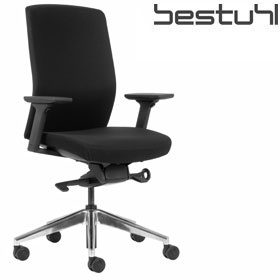 Bestuhl J2 Black Fabric Meeting Chair