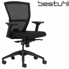 Bestuhl E1 Black Mesh Task Chair £233 - Office Chairs