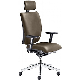 Lyra Faux Leather Executive Chair £299 - Office Chairs