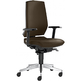 Stream Leather Operator Chair £298 -