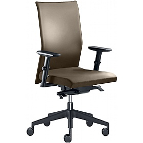 Web Leather Operator Chair £403 - Office Chairs
