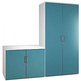 NEXT DAY Kaleidoscope Cupboards £156 - Next Day Office Furniture