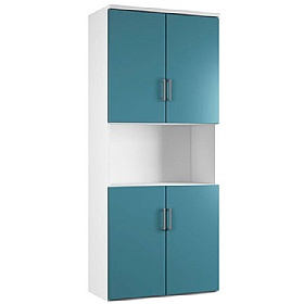 NEXT DAY Kaleidoscope Twin Double Door Combination Cupboards £346 - Next Day Office Furniture
