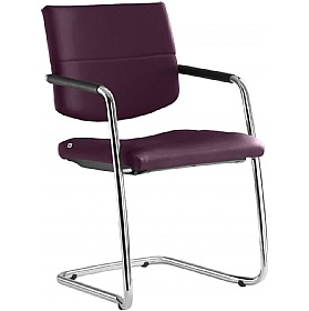 Laser Leather Cantilever Conference Chair £273 - Office Chairs