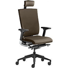Active Leather Executive Chair £510 - Office Chairs