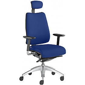 Opus Fabric Executive Chair £530 - Office Chairs