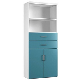 NEXT DAY Kaleidoscope Double Door Combination Cupboards With Drawers and Shelves £311 - Next Day Office Furniture