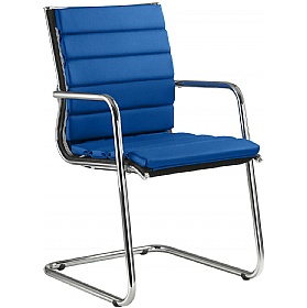 Pluto Fabric Cantilever Chairs £703 - Office Chairs