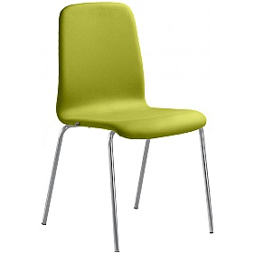Smile Vinyl 4-Leg Stackable Chairs £192 - Office Chairs