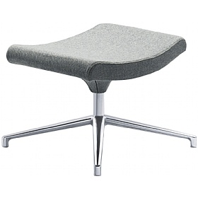 Relax Fabric Swivel Footstool £372 - Office Chairs
