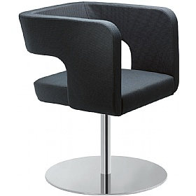 Next Fabric Disc Base Reception Armchairs £581 - Reception Furniture