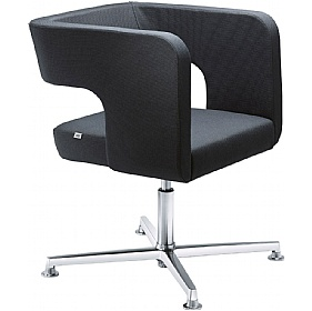 Next Fabric 4-Star Base Reception Armchairs £500 - Reception Furniture