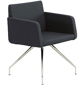 Delta Fabric 4-Leg Reception Chairs £513 - Reception Furniture