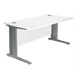 NEXT DAY Kaleidoscope Cantilever Deluxe Rectangular Desks £161 - Next Day Office Furniture