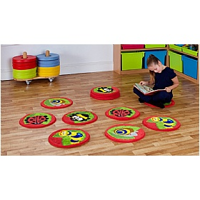 Back To Nature Bugs Mini Carpets £82 - Education Furniture