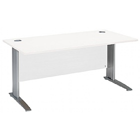 NEXT DAY Polar Cantilever Rectangular IT Desks £175 - Next Day Office Furniture