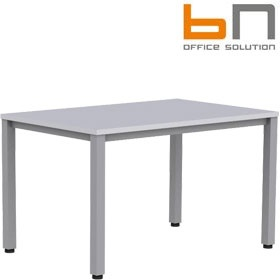 BN Easy Space Height Adjustable Rectangular Desks - Square Legs £166 - Office Desks