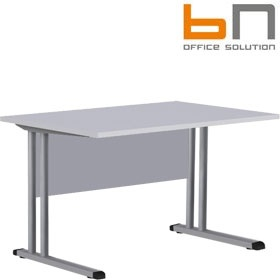 BN Easy Space Rectangular Cantilever Desks With Modesty Panel £168 - Office Desks