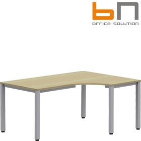 BN Easy Space Square Leg Ergonomic Desks £258 - Office Desks