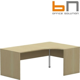 BN Easy Space Ergonomic Panel End Desk £215 - Office Desks