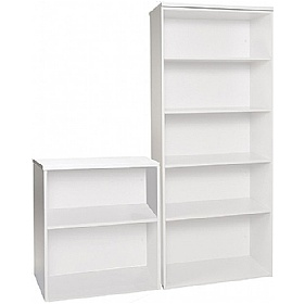 NEXT DAY Polar Office Bookcases £96 - Next Day Office Furniture