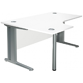 NEXT DAY Kaleidoscope Cantilever Deluxe Ergonomic Desks £236 - Next Day Office Furniture