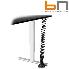 BN Easy Space Vertical Cable Riser For Height Adjustable Desks £83 - Office Desks