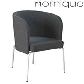 Inspiral Latte Tub Chairs £299 - Reception Furniture