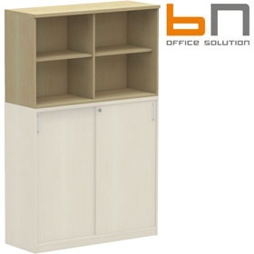 BN Easy Space Double Width Upper Bookcases £135 - Office Desks