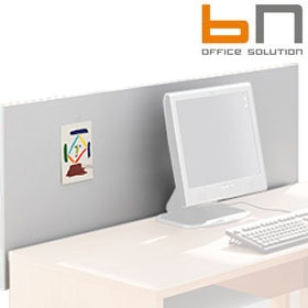BN Easy Space Wooden Rear Desk Screens £0 - Office Screens