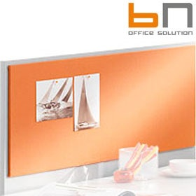 BN Easy Space Upholstered Side Desk Screen £40 - Office Screens