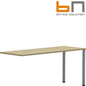 BN Easy Space Round Leg Rectangular Desk Extensions £85 - Office Desks
