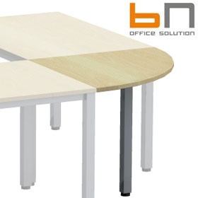 BN Easy Space Square Leg 1/4 Circle Linking Unit £79 - Office Desks