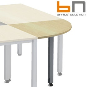 BN Easy Space Height Adjustable Square Leg 1/4 Circle Linking Units £87 - Office Desks