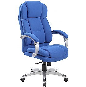 Aston Synchronous Fabric Manager Chairs £117 - Office Chairs