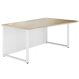NEXT DAY Duo Wave Desks £153 - Next Day Office Furniture