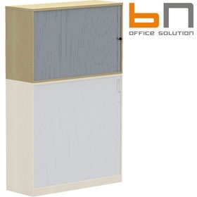 BN Easy Space Upper Tambour Cabinets £229 - Office Desks