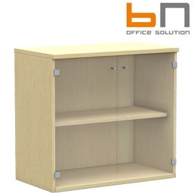 BN Easy Space Double Glass Door Cupboards £181 - Office Desks