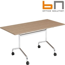BN Flib Rectangular Folding Meeting Tables BN Flib Meeting Tables - Foldable meeting table