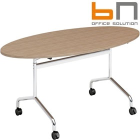 BN Flib Oval Folding Meeting Tables £293 - Meeting Room Furniture