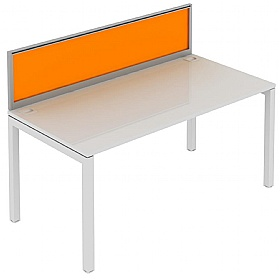 Elite Matrix Bench Acrylic System Screen £195 - Office Desks