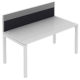 Elite Matrix Bench Fabric System Screen With Management Rail £237 - Office Desks