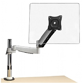 NEXT DAY Accent Single Gas Assisted Monitor Arm £0 - Office Furnishings