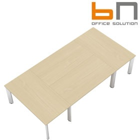 BN CX 3200 Conference Table Arrangement 4 To Seat 8 People £3733 - Meeting Room Furniture