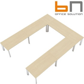 BN CX 3200 Conference Table Arrangement 6 To Seat 12 People £6221 - Meeting Room Furniture