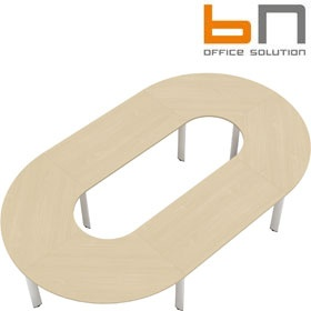 BN CX 3200 Conference Table Arrangement 8 To Seat 12 People £5414 - Meeting Room Furniture